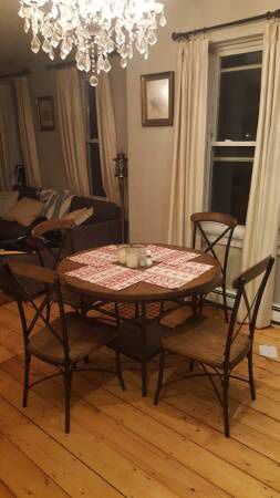 Rolena dining room table and chairs for Sale in Boston, MA