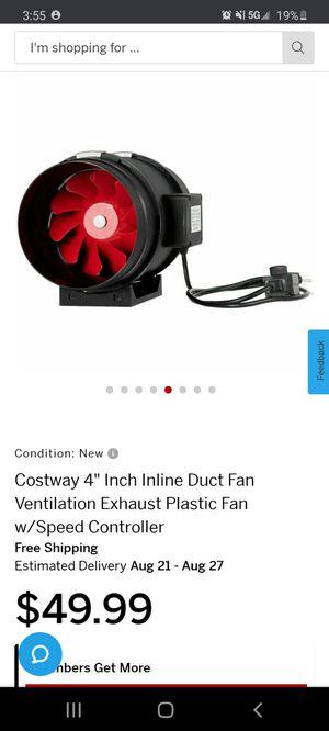 Inline Duct Fan for Sale in GLMN HOT SPGS, CA