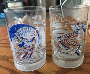 2 McDonalds collectible glasses for Sale in Everett, WA