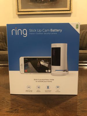 Ring Stick Up Cam for Sale in Anaheim, CA