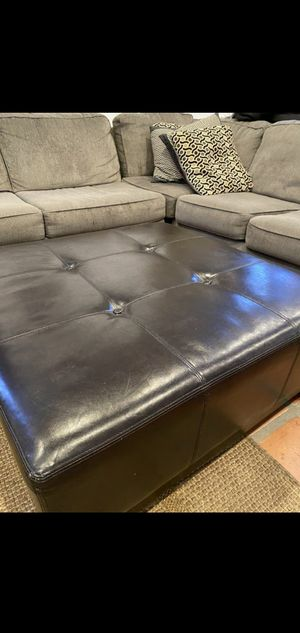 Ottoman coffee table large brown for Sale in Los Angeles, CA
