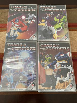 Transformers DVD The Complete Series for Sale in Fresno, CA