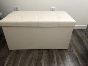Leather storage container for Sale in Chandler, AZ
