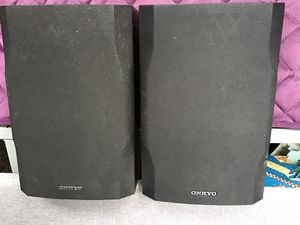 Set of quality onkyo 120 way speakers 40.00 for Sale in Nashville, TN