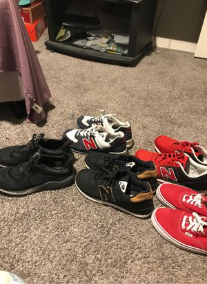 Like new shoes size 12.. 5 pair for 100.00 or 25 each for Sale in SEATTLE, WA