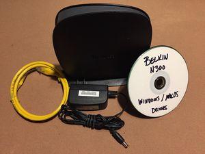 Belkin N300 Wireless N Router Model# F9K1002V4 for Sale in Portland, OR