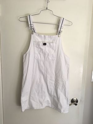 White overall dress, size medium for Sale in Kenmore, WA