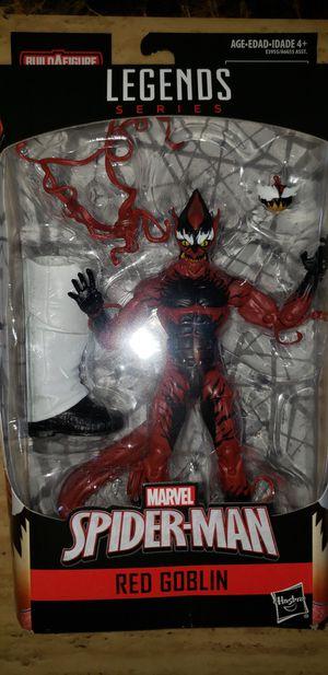 Marvel Legends Spiderman Classics Carnage Red Goblin Kingpin Baf for Sale in Norridge, IL