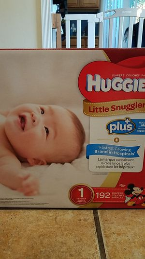 1 Huggies 192 Diapers for Sale in Carson, CA