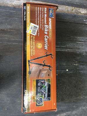 """2-bike trailer hitch (2"""") bike carrier. Brand new in the box. for Sale in San Diego, CA"""