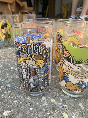 Vintage Muppets Glass Set for Sale in Baton Rouge, LA