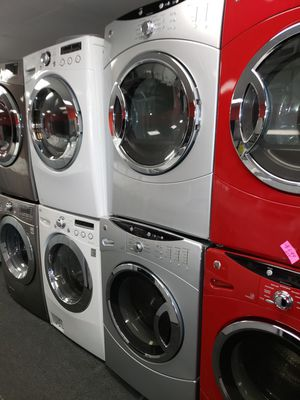 GE electric front load set washer and dryer in exellent condition for Sale in McDonogh, MD