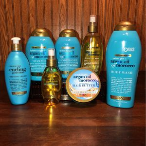 All Brand NEW! 🚿 Ogx-beauty pure & simple Hair / Body Care Products - Argan Oil of Morocco (((PENDING PICK UP TODAY 4-5pm))) for Sale in Chesapeake, VA