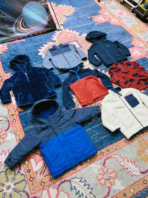 ✅ 2T, 3T Toddler Boy Jackets and Pullovers— A $300 VALUE!— SAVE TONS OF MONEY!— DESIGNER BRANDS! for Sale in Phoenix, AZ