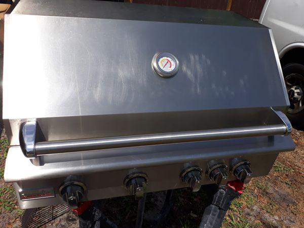 """Paradise grills 32"""" 4 burner bbq grill"""