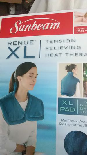 Sunbeam renue xl back heat therapy for Sale in Hastings, NE