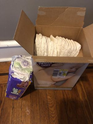 Diapers luvs / parent choice for Sale in Philadelphia, PA