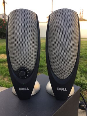 Computer Speakers & Bass- DELL- Complete with All cables! **Very Good Condition**SEE All PICS** for Sale in West Covina, CA