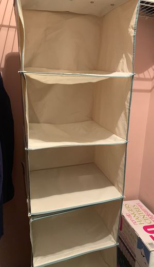 Hanging Closet Organizer for Sale in Marietta, GA