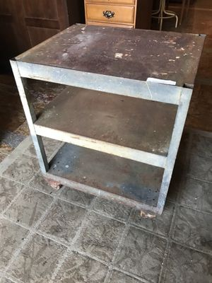 Industrial steel metal plant stand table for Sale in San Diego, CA