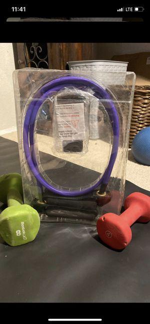 New resistance bands with dumbbells for Sale in La Presa, CA