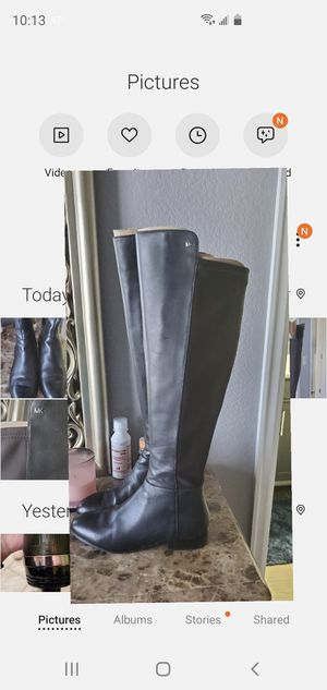 Michael Kors tall boots size 7.5 for Sale in Denver, CO