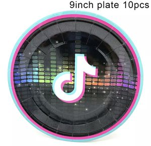 "Tik tok plates 9"" (10 pack) for Sale in Waterbury, CT"