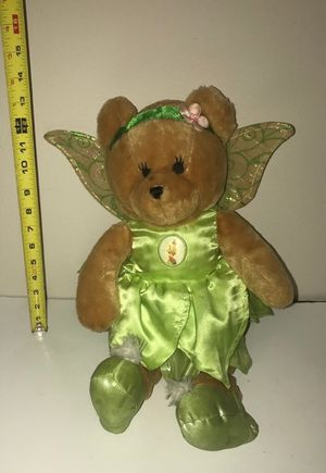 Disney Tinkerbell Plush Doll Toy Bear for Sale in Port St. Lucie, FL