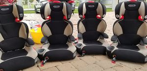 4 x Graco High back car seats for Sale in Tampa, FL