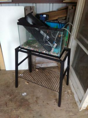 2 fish tanks with stand for Sale in Marengo, OH