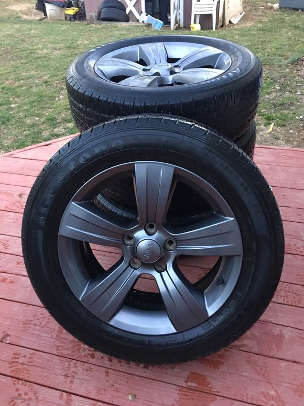 4 Firestone tires
