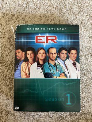 ER Season 1 DVD for Sale in Katy, TX