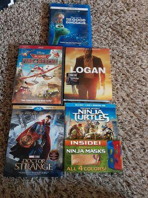5 DVD Blu-ray movies for Sale in Tacoma, WA