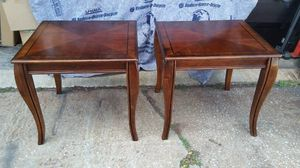 2 Wood End Table Set for Sale in Tampa, FL