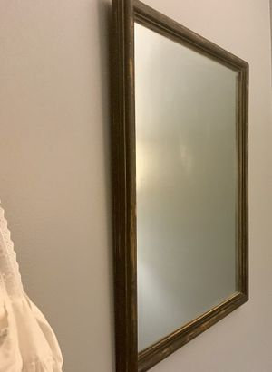 """Large, Heavy Antique Wall Mirror / 20"""" W x 28"""" T Rectangle Mirror for Hallway, Bathroom, etc for Sale in Angier, NC"""