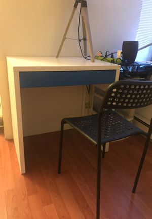 IKEA desk and chair for Sale in Annandale, VA