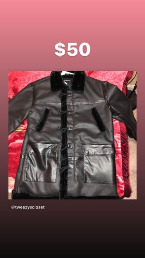 Men's winter jacket Size L $50 Reason Clothing Brand for Sale in Gaithersburg, MD