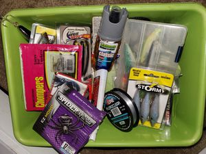 Spring cleaning my fishing tackle for Sale in Modesto, CA