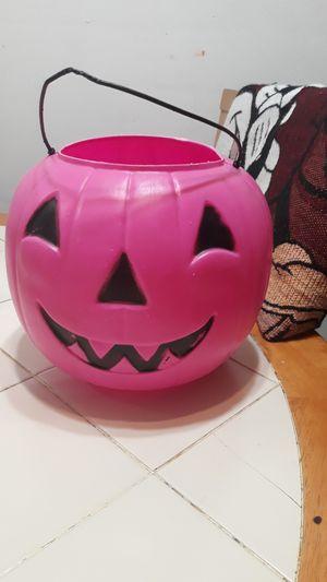 Pink pumpkin for Sale in Franklin Park, IL