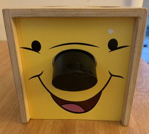 Melissa & Doug, Winnie the Pooh & Friends Shape Sorting Cube for Sale in Los Angeles, CA