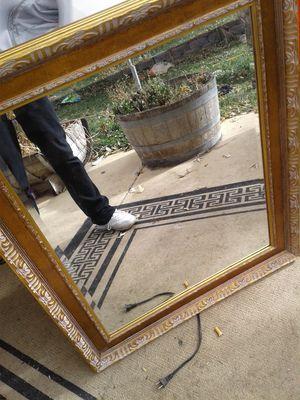 70 obo antique mirror for Sale in Denver, CO