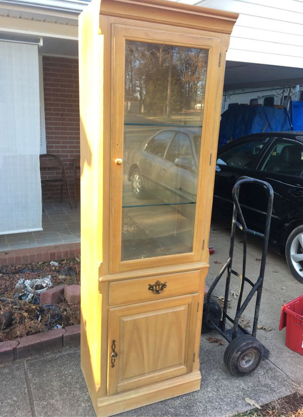 THOMASVILLE FURNITURE DISPLAY CABINET