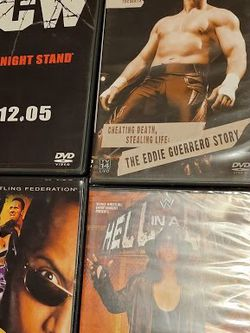 dvd wrestlemania eddie summerslam 2000 survivor series 07 hell cell 09 wwf wwe ecw for Sale in Los Angeles,  CA