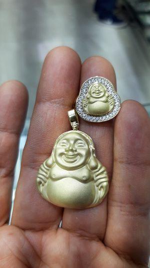 10k gold buds charm 5.6 grams $280 10k buda ring cz stones 4.2 grams $220 for Sale in Los Angeles, CA