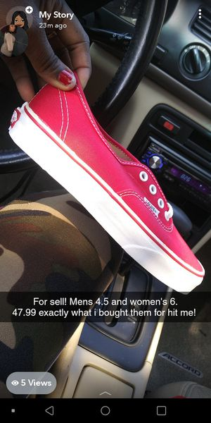 Women's classic Van's size 6 brand new for Sale in Portland, OR