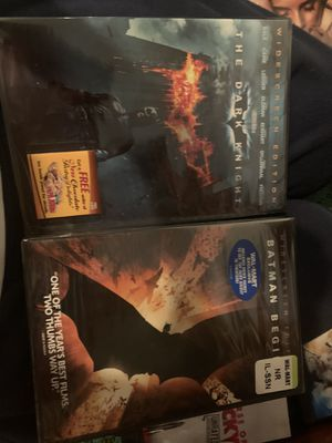Brand new never opened Batman begins and dark knight for Sale in Lakewood, CO