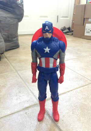 Hasbro Marvel Titan Hero Series Captain America Action Figure for Sale in Middletown, DE