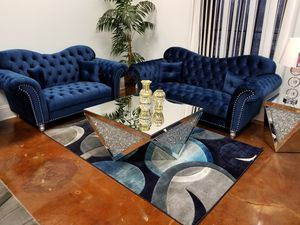 Modern Chesterfield Style Sofa Set for Sale in Chicago, IL