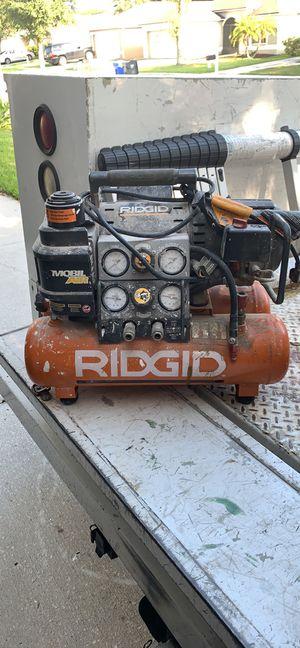 Pair of Rigid Air Compressors for Sale in Brandon, FL