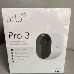 Arlo Pro 3 (Brand New Seale) for Sale in Spring, TX